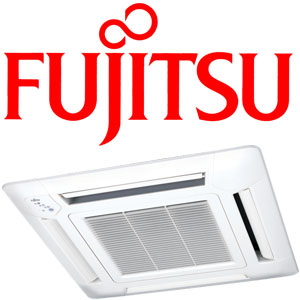 FUJITSU AUTG09LVLB 2.7kW Multi Type System Cassette Indoor Only | UTG-UFYD-W grille