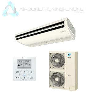 DAIKIN FHQ125DA-AV SKYAIR Ceiling Suspended 1 Phase INVERTER Backlit  Controller - Airconditioning Online