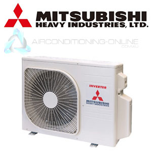 Multi Type System MITSUBISHI HEAVY INDUSTRIES Model SCM45ZS S Outdoor Unit  Only. For Conditioning 2 Rooms