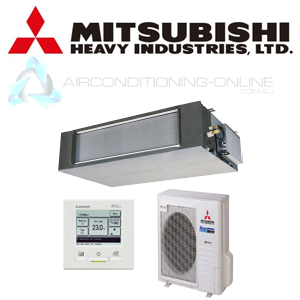 MITSUBISHI HEAVY INDUSTRIES FDUA71AVNXAVF Ducted High Static With RC EX3  Back Lit Controller
