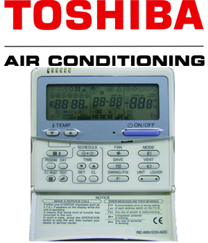 Toshiba Rbc Ams41e Controller With Weekly Timer
