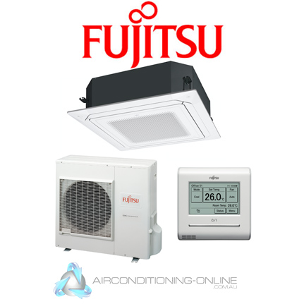 Fujitsu AUTG30KRLA 8.5kW Inverter Cassette Split Systems | R32