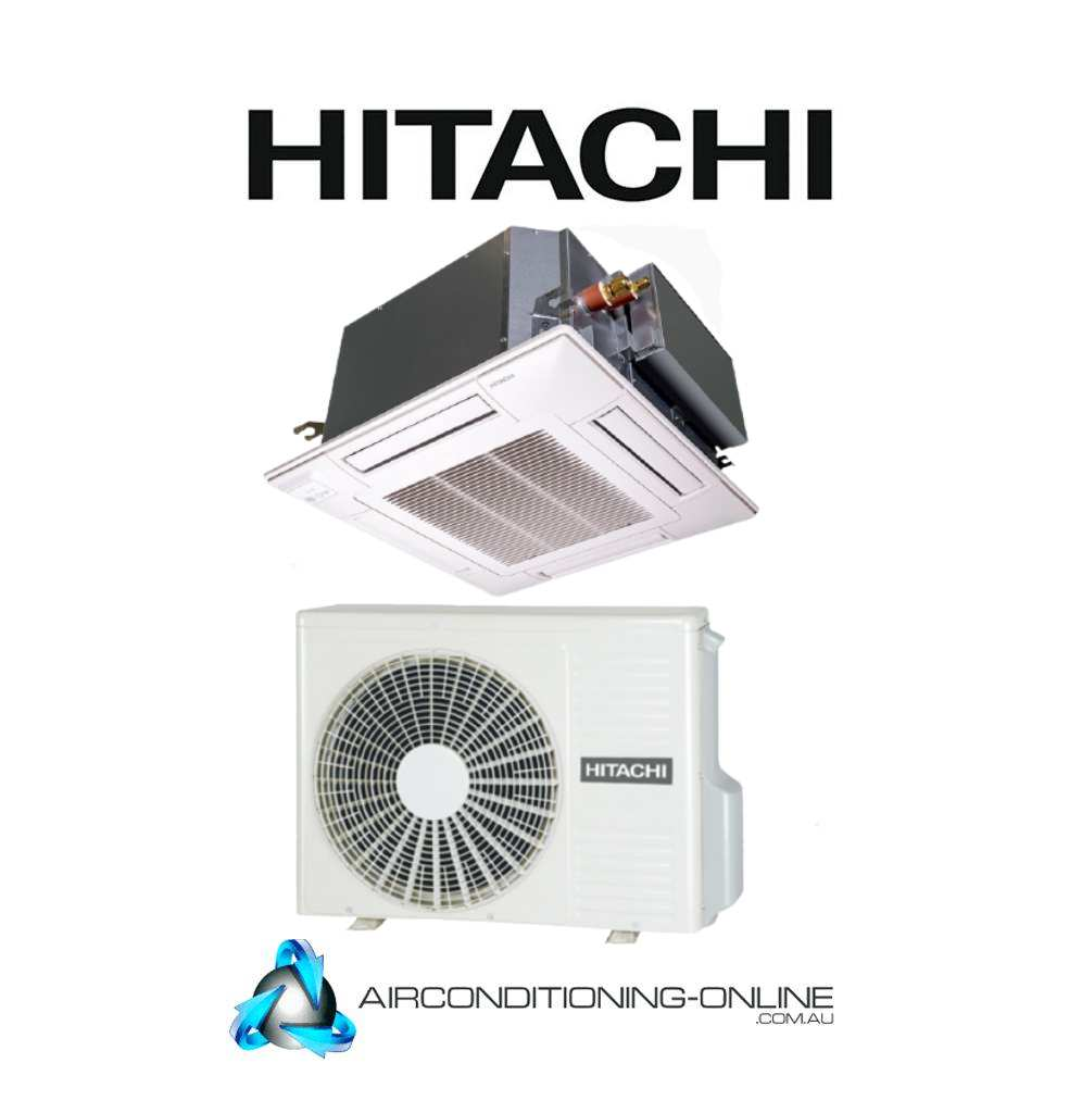 HITACHI RCI-3.0FSRP/RAS-3HVNC 7.1kW 4-Way Cassette Split Systems