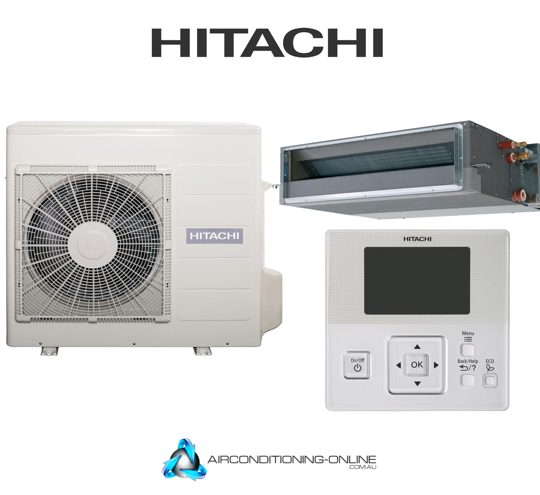 Hitachi Ducted System Rad E70yha Rac E70yha 7 0kw Cool 8