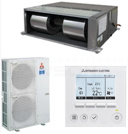 Mitsubishi Electric Pea Rp170wja Puhz Rp170vka2 Ducted