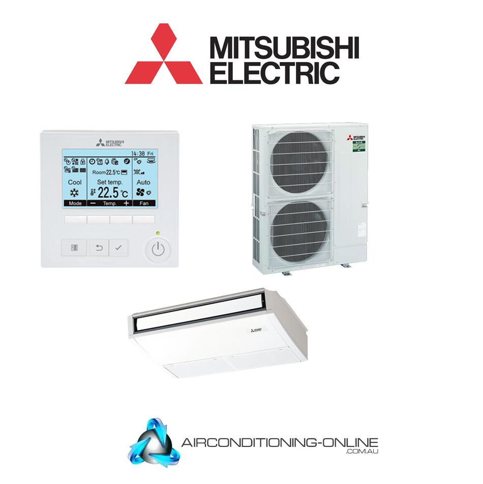 MITSUBISHI ELECTRIC PCA-M100KA /PUZ-ZM100YKA2.TH 10kW Under Ceiling System 3 Phase | Backlit Controller