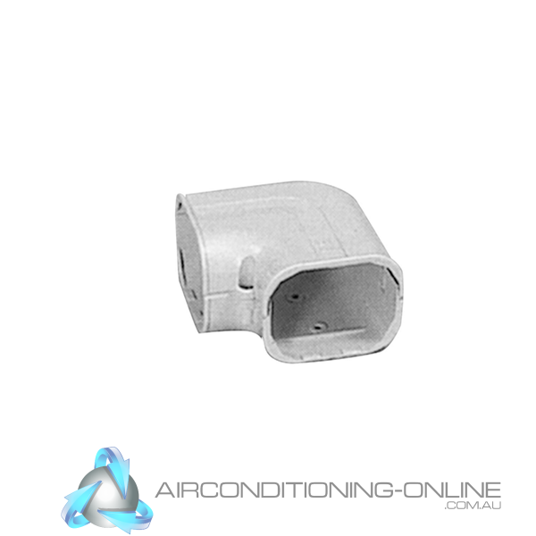 Wall Hung Duct Elbow 110mm