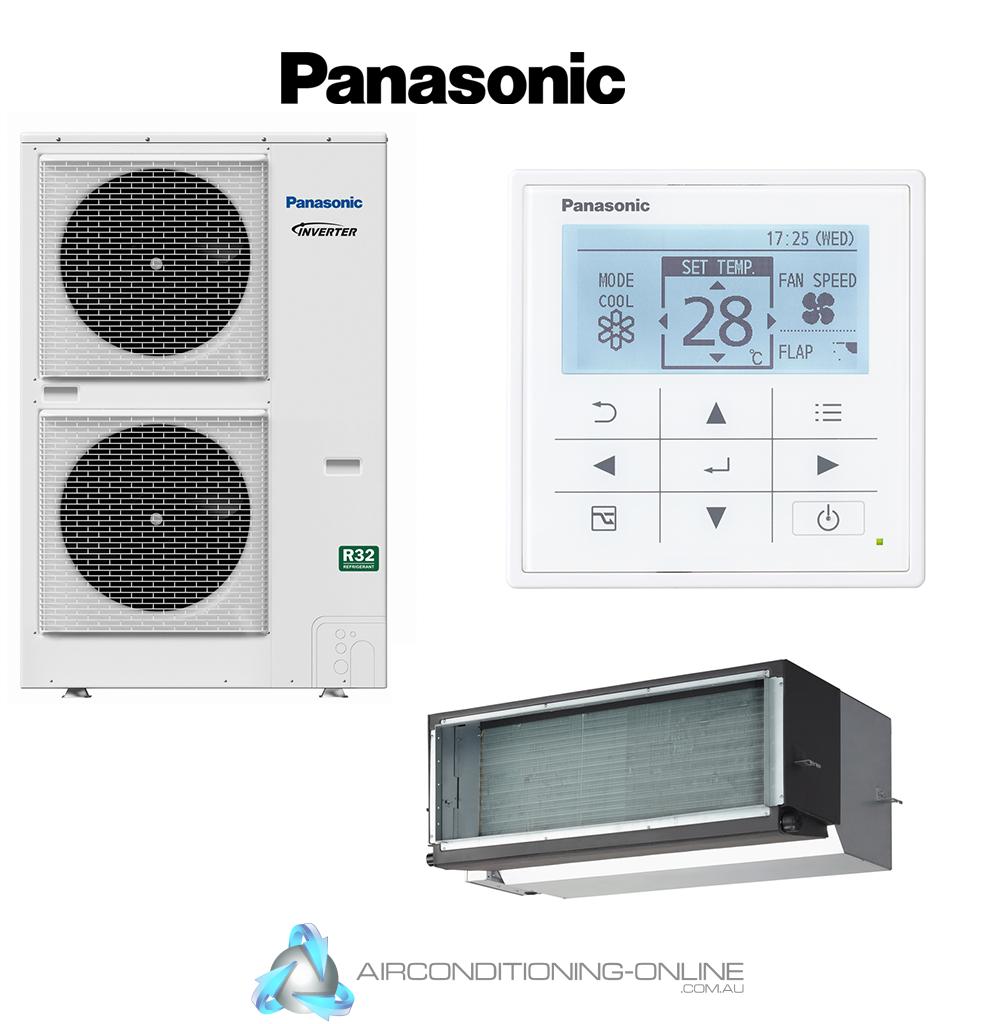 Panasonic Premium Ducted Inverter S-160PE1R5B U-160PZH2R5 1 Phase R32