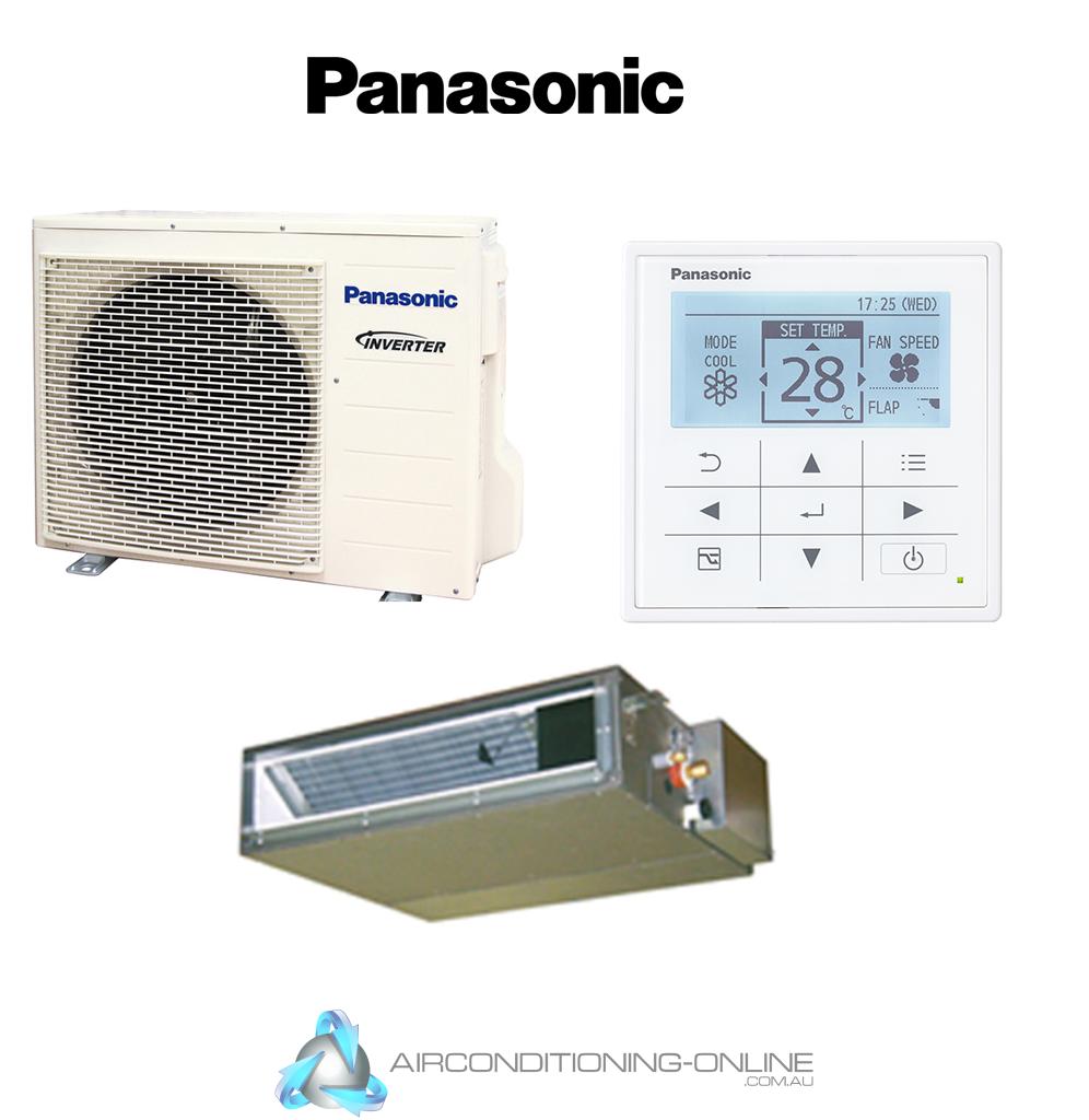 Panasonic Inverter Ultra Slim Ducted 6.0 kW CS-Z60UD3RAW CU-Z60UBRA Bulkhead -R32
