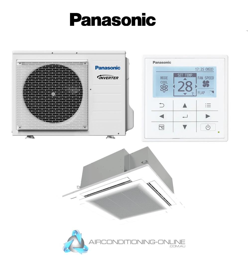 Panasonic S-1014PU3E / U-100PZ3R5 10kW R32 Cassette - Single Phase