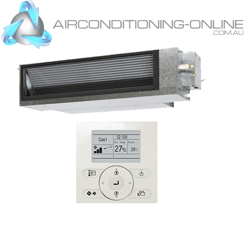 DAIKIN FBA125B-VCY 12.5kW Premium Inverter Slim-Line (R32) Three Phase Backlit Controller