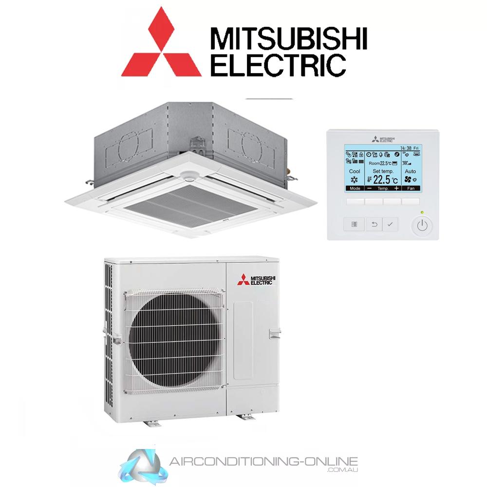 Mitsubishi Electric PLA-M100EA-A/PUZ-ZM100VKA-A Cassette 10kw