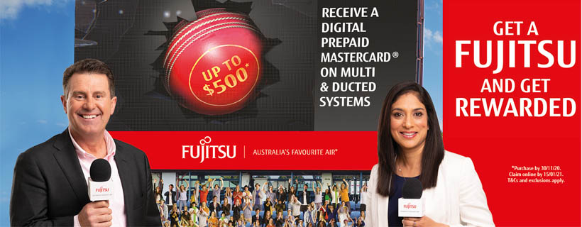 Fujitsu Ducted System Summer Promotion 2020