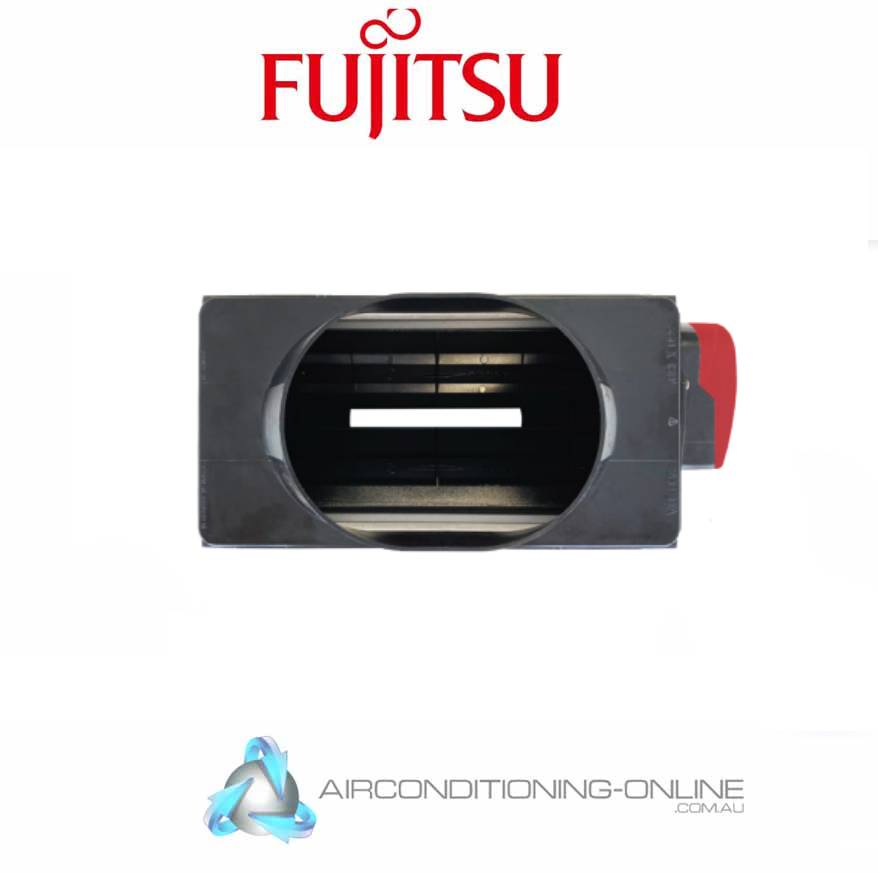 Fujitsu ZM-ANY14 24V Opposed Blade Damper - 14 inch - 350mm (Including Cable)