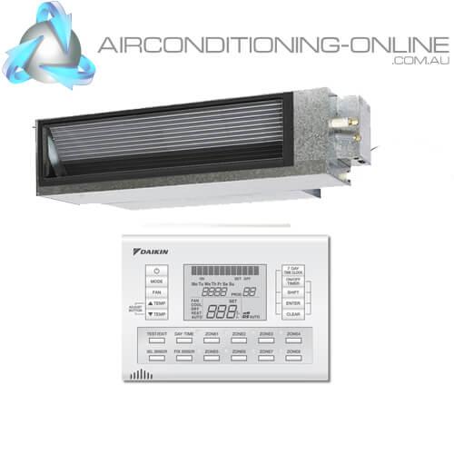 DAIKIN FDYA71A-CV 7.1kW Premium Inverter Ducted System 1 Phase | BRC230Z4 Zone Controller