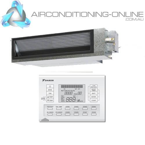 DAIKIN FDYA85A-CV 8.5kW Premium Inverter Ducted System 1 Phase   BRC230Z4 Zone Controller