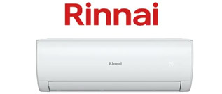 Rinnai fully installed Split system Packages