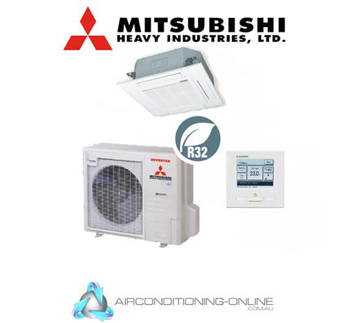 MITSUBISHI HEAVY INDUSTRIES Ceiling Cassette FDT100VNPWVH Single Phase Wired Control