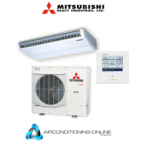 Mitsubishi Heavy Industries FDE100AVNVH 10kW Ceiling Suspended System RC-EXZ3A Wired Controller Single Phase