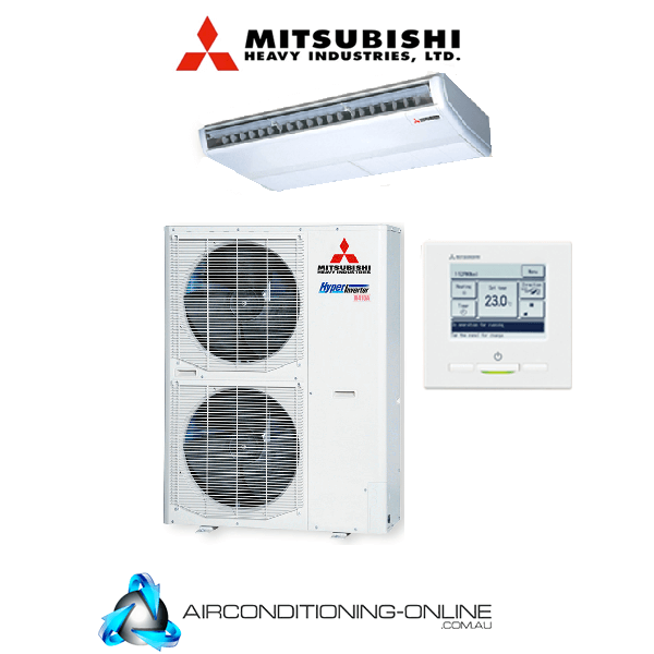 Mitsubishi Heavy Industries FDE125VSXVH 12.5kW Ceiling Suspended System RC-EXZ3A Wired Controller Three Phase