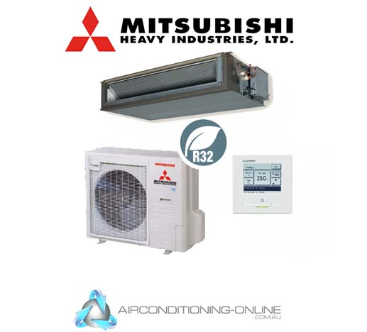 Mitsubishi Heavy Industries FDUA100VNPWVH 10kW High Static Ducted System Single Phase