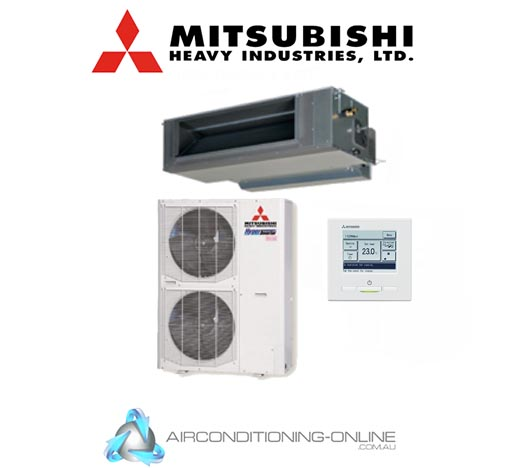 Mitsubishi Heavy Industries FDUA140AVNXVG 14kW High Static Ducted System Single Phase