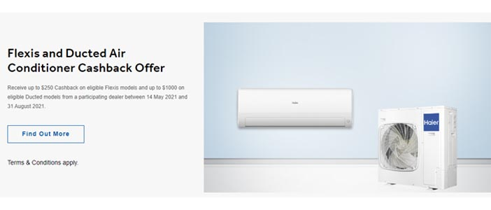 HAIER AIRCONDITIONING PROMOTION 2021