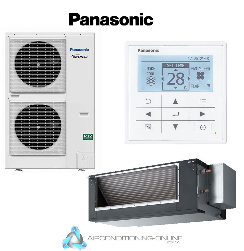 Panasonic High Static Ducted 12.5kW S-125PE3R / U-125PZH3R8 3 Ph