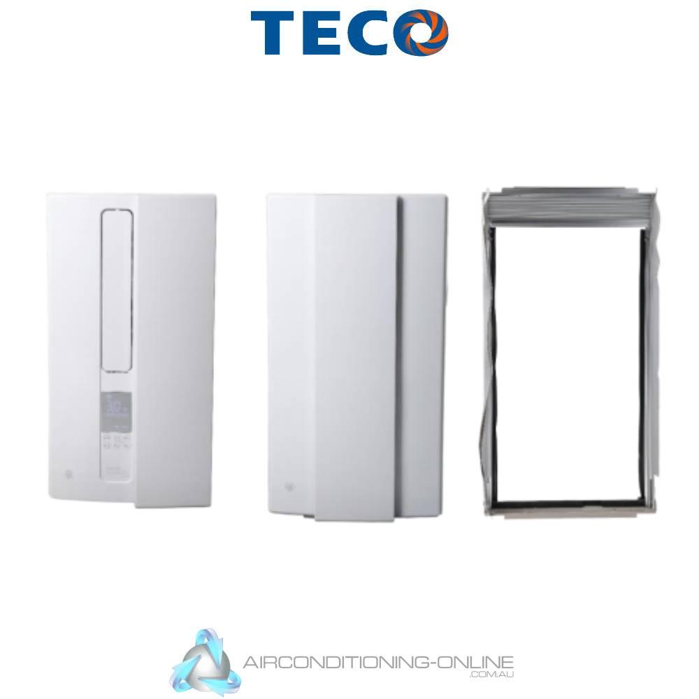 TECO TVS26HVUVAH 2.6kW Vertical Skinny Window Wall Air Conditioner Reverse Cycle