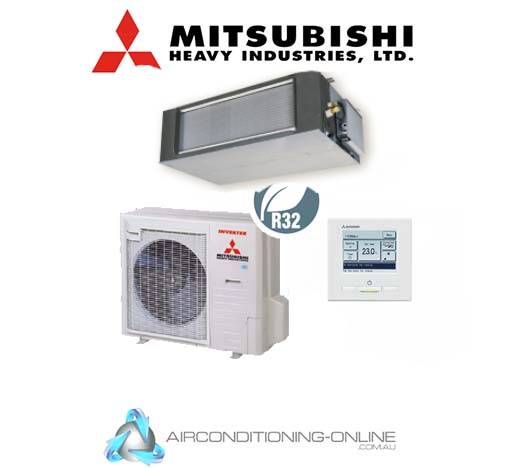 Mitsubishi Heavy Industries FDUA125VSXWVH 12.5kW High Static Ducted System Three Phase