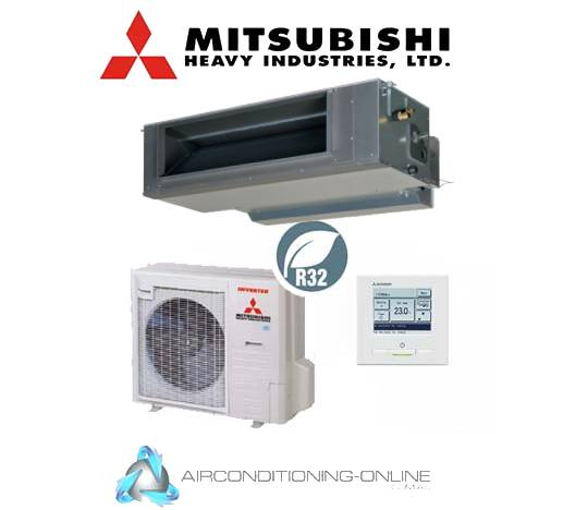 Mitsubishi Heavy Industries FDUA140VNXWVG 14kW High Static Ducted System Single Phase