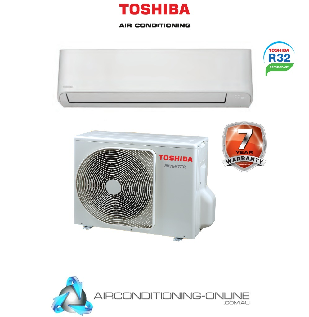 Toshiba Seiya RAS-07E2KV2G-A RAS-07E2AVG-A 2kW Reverse Cycle Inverter Split System Air Conditioner
